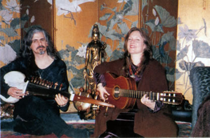 David Macvittie and Lisa Thiel