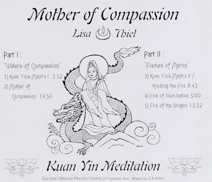 mother of compassion back cover